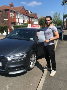 Congratulations to Junaid passing his driving test with L-Team driving school for the first time!! #passed#driving#learner🏆 #manchester#drivinglessons #help #learning #cars Call us now to get booked in on 0333 240 6430