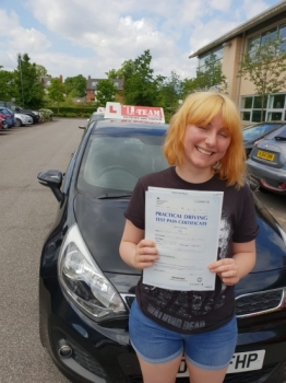 Congratulations to Pearl  passing her driving test with L-Team driving school for the first time!! #passed#driving#learner🏆 #manchester#drivinglessons #help #learning #cars Call us now to get booked in on 0333 240 6430  PASSED JUNE 2018 🏆...