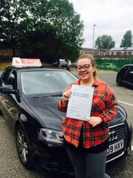 Congratulations to Sarha passing her driving test with L-Team driving school for the first time!! #passed#driving#learner🏆 #manchester#drivinglessons #help #learning #cars Call us now to get booked in on 0333 240 6430
