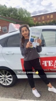 Congratulations to Sehabia passing her driving test with L-Team driving school for the first time!! #passed#driving#learner🏆 #manchester#drivinglessons #help #learning #cars Call us now to get booked in on 0333 240 6430  PASSED JUNE 2018 🏆...