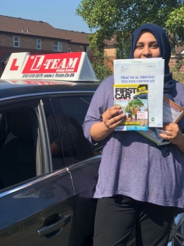 Congratulations to Faiza passing her driving test with L-Team driving school for the first time!! #passed#driving#learner🏆 #manchester#drivinglessons #help #learning #cars Call us now to get booked in on 0333 240 6430  PASSED JULY 2018 🏆...