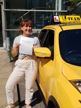 Congratulations to Rachel passing her driving test with L-Team driving school for the first time!! #passed#driving#learner🏆 #manchester#drivinglessons #help #learning #cars Call us now to get booked in on 0333 240 6430