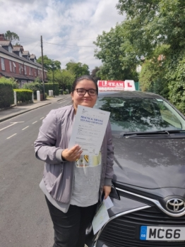 Congratulations to Rabina passing her driving test with L-Team driving school for the first time!! #passed#driving#learner🏆 #manchester#drivinglessons #help #learning #cars Call us now to get booked in on 0333 240 6430