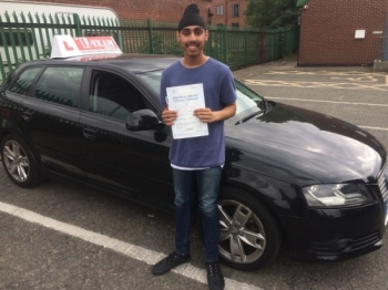 Congratulations to Jaginder passing his driving test with L-Team driving school for the first time!! #passed#driving#learner🏆 #manchester#drivinglessons #help #learning #cars Call us now to get booked in on 0333 240 6430