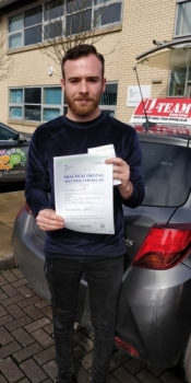 Congratulations to RYS passing his driving test with 