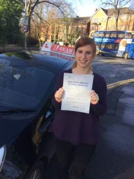 Congratulations to Sophia passing her driving test with