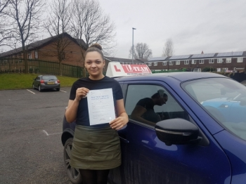 Congratulations to Danielle passing her driving test with L-Team driving school for the first time!! #passed#driving#learner #manchester#drivinglessons #help #learning #cars  Call us know to get booked in on 0161 610 0079