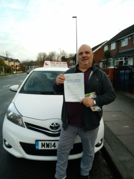 Congratulations to Chris passing his driving test with L-Team driving school for the first time!! #passed#driving#learner #manchester#drivinglessons #help #learning #cars Call us know to get booked in on 0161 610 0079