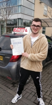 Congratulations to George Lewis passing his driving test with L-Team driving school for the first time!! #passed#driving#learner #manchester#drivinglessons #help #learning #cars Call us know to get booked in on 0161 610 0079    PASS IN FEBRUARY 2018...