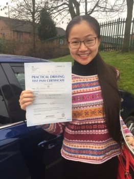 Congratulations to MS WAN passing her driving test with L-Team driving school for the first time!! #passed#driving#learner #manchester#drivinglessons #help #learning #cars  Call us know to get booked in on 0161 610 0079  PASS IN DECEMBER 2017...