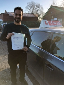 Congratulations to Usman passing his driving test with  L-Team driving school for the first time!! #passed#driving#learner #manchester#drivinglessons #help #learning #cars Call us know to get booked in on 0161 610 0079  PASS IN JANUARY 2018...