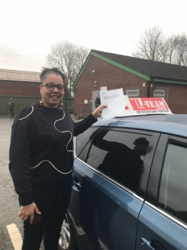 Congratulations to Jade passing her driving test with  L-Team driving school for the first time!! #passed#driving#learner #manchester#drivinglessons #help #learning #cars Call us know to get booked in on 0161 610 0079  PASS IN JANUARY 2018...