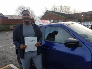 Congratulations to Nyron passing his driving test with L-Team driving school for the first time!! #passed#driving#learner #manchester#drivinglessons #help #learning #cars Call us know to get booked in on 0161 610 0079