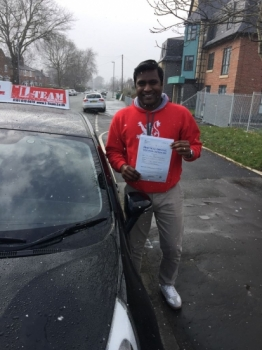 Congratulations to Arun passing his driving test with  L-Team driving school for the first time!! #passed#driving#learner #manchester#drivinglessons #help #learning #cars Call us know to get booked in on 0161 610 0079  PASS IN FEBRUARY 2018...