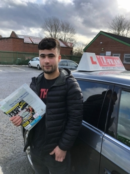 Congratulations to Hussian passing his driving test with L-Team driving school for the first time!! #passed#driving#learner #manchester#drivinglessons #help #learning #cars Call us know to get booked in on 0161 610 0079