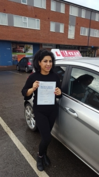 Congratulations to Sanaz passing her driving test with  L-Team driving school for the first time!! #passed#driving#learner #manchester#drivinglessons #help #learning #cars Call us know to get booked in on 0161 610 0079  PASS IN JANUARY 2018...