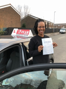 Congratulations to Jessica passing her driving test with  L-Team driving school for the first time!! #passed#driving#learner #manchester#drivinglessons #help #learning #cars Call us know to get booked in on 0161 610 0079  PASS IN JANUARY 2018...