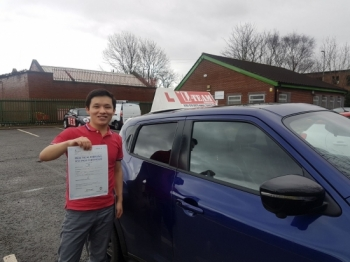 Congratulations to Enayat passing his driving test with  L-Team driving school for the first time!! #passed#driving#learner #manchester#drivinglessons #help #learning #cars Call us know to get booked in on 0161 610 0079  PASS IN JANUARY 2018...