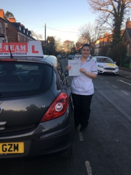 Congratulations to Emer passing her driving test with  L-Team driving school for the first time!! #passed#driving#learner #manchester#drivinglessons #help #learning #cars Call us know to get booked in on 0161 610 0079  PASS IN JANUARY 2018...