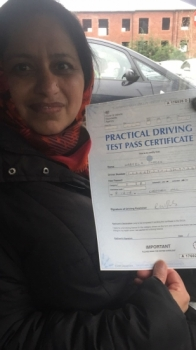 Congratulations to Nabela passing her driving test with   L-Team driving school for the first time!! #passed#driving#learner #manchester#drivinglessons #help #learning #cars  Call us know to get booked in on 0161 610 0079    PASS IN FEBRUARY 2018...