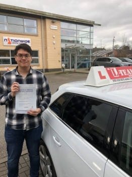 Congratulations to Frances passing his driving test with L-Team driving school for the first time!! #passed#driving#learner #manchester#drivinglessons #help #learning #cars Call us know to get booked in on 0161 610 0079