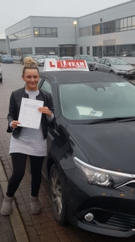 Congratulations to Kourtney passing her driving test with L-Team driving school for the first time!! #passed#driving#learner #manchester#drivinglessons #help #learning #cars  Call us know to get booked in on 0161 610 0079    PASS IN DECEMBER 2017...