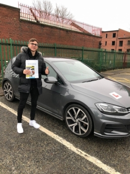 Congratulations to Iker passing his driving test with L-Team driving school for the first time!! #passed#driving#learner #manchester#drivinglessons #help #learning #cars Call us know to get booked in on 0161 610 0079