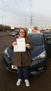 Congratulations to Jade passing her driving test with     L-Team driving school for the first time!! #passed#driving#learner #manchester#drivinglessons #help #learning #cars  Call us know to get booked in on 0161 610 0079