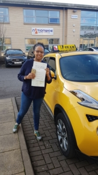 Congratulations to Carrina passing her driving test with L-Team driving school for the first time!! #passed#driving#learner #manchester#drivinglessons #help #learning #cars Call us know to get booked in on 0161 610 0079  PASS IN JANUARY 2018...