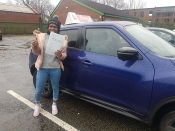 Congratulations to Chante passing her driving test with   L-Team driving school for the first time!! #passed#driving#learner #manchester#drivinglessons #help #learning #cars Call us know to get booked in on 0161 610 0079    PASS IN JANUARY 2018...