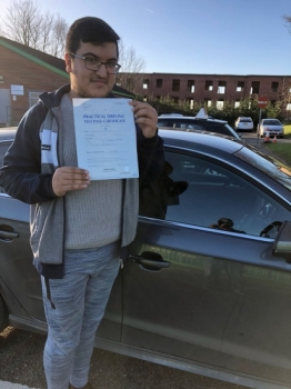 Congratulations to Ali passing his driving test with L-Team driving school for the first time!! #passed#driving#learner #manchester#drivinglessons #help #learning #cars Call us know to get booked in on 0161 610 0079    PASS IN JANUARY 2018...
