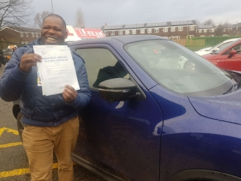 Congratulations to Kenneth passing his driving test with L-Team driving school for the first time!! #passed#driving#learner #manchester#drivinglessons #help #learning #cars Call us know to get booked in on 0161 610 0079