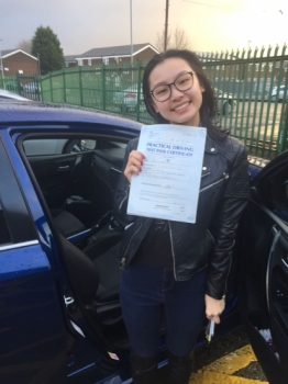 Congratulations to Ka wai ying passing her driving test with L-Team driving school for the first time!! #passed#driving#learner #manchester#drivinglessons #help #learning #cars Call us know to get booked in on 0161 610 0079