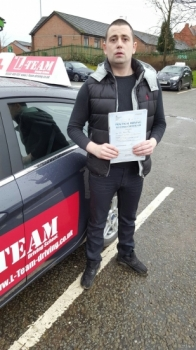 Just like to say tal the driving instructor from Lteam Manchester best I know of I sat with a few different instructors and not one of them taught me how tal did supported me every step of the way, made me confident behind the wheel, I passed my test first time wouldn´t of been able to do it without tal. I´d highly recommend him to anyo...
