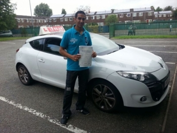 thank you shahid for getting me pass my driving test top instructor... 2/09/2013...
