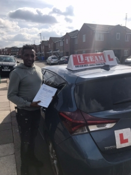 Congratulations to Hannock passing his driving test with L-Team driving school for the first time!! #passed#driving#learner #manchester#drivinglessons #help #learning #cars Call us know to get booked in on 0161 610 0079    PASS IN MARCH 2018...