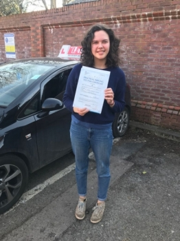 Congratulations to Kate passing her driving test with  L-Team driving school for the first time!! #passed#driving#learner #manchester#drivinglessons #help #learning #cars Call us know to get booked in on 0161 610 0079  PASS IN MARCH 2018...