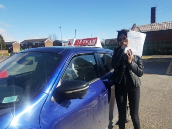 Congratulations to Marwa passing her driving test with   L-Team driving school for the first time!! #passed#driving#learner #manchester#drivinglessons #help #learning #cars Call us know to get booked in on 0161 610 0079    PASS IN MARCH 2018...