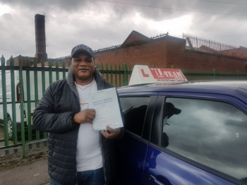 Congratulations to Idrisa passing his driving test with   L-Team driving school for the first time!! #passed#driving#learner #manchester#drivinglessons #help #learning #cars Call us know to get booked in on 0161 610 0079    PASS IN MARCH 2018...