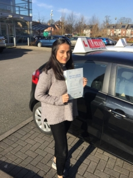 Congratulations to Aisa passing her driving test with  L-Team driving school for the first time!! #passed#driving#learner #manchester#drivinglessons #help #learning #cars Call us know to get booked in on 0161 610 0079  PASS IN MARCH 2018...
