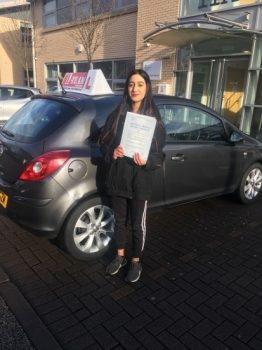 Congratulations to Maham passing her driving test with L-Team driving school for the first time!! #passed#driving#learner #manchester#drivinglessons #help #learning #cars Call us know to get booked in on 0161 610 0079    PASS IN MARCH 2018...