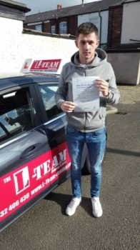 Pass first time at bury test centre 6 of october...