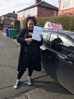 Congratulations to Rakaya passing her driving test with L-Team driving school for the first time!! #passed#driving#learner #manchester#drivinglessons #help #learning #cars Call us know to get booked in on 0161 610 0079    PASS IN MARCH 2018...