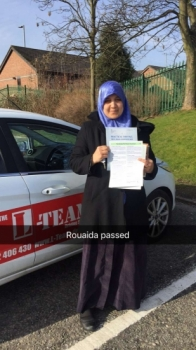 Congratulations to Rouaida passing her driving test with L-Team driving school for the first time!! #passed#driving#learner #manchester#drivinglessons #help #learning #cars Call us know to get booked in on 0161 610 0079