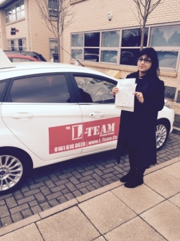 hi there i started 4 months ago and i pass my test first time..i had around 38..lessons