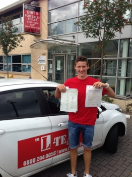 hi i started to learn driving lessons when my summer holidays back in July when the weather was so hot lol and took 30 lessons and i cant belive i pass first time with 3 minors.. cool..now focus on my football career my instructor from L TEAM has pass my family and friends in the pass...if your looking for lessons i reckon mend you go with this sch...
