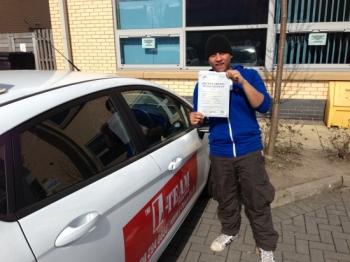 hi pass first time 3 minors thanks mate...