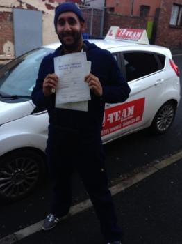 thank you imran for all your help ... now can start my new job and get my  company car as well  13/1/2014...