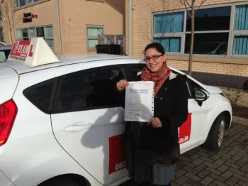 Thanks L TEAM driving school for getting me pass first time before i had my baby thank you...