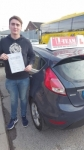 JOSH BROOKS passed with L Team Driving School